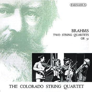 Brahms: Two String Quartets, Op. 51