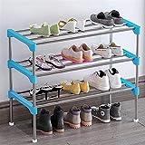 Tamaño del Almacenamiento del Organizador de Zapatos: 582794cm Pasillo y guardarropa (Color : Blue, Size : 58 * 27 * 48cm)