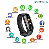 Sketchfab Plastic Digital LED Fitness Activity Tracker with Heart Rate Sensor, Blood Pressure