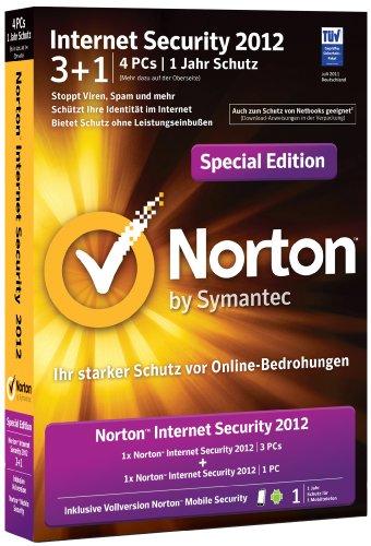 Norton Internet Security 2012 3+1