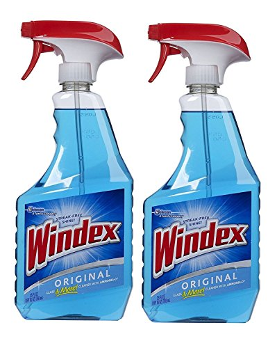Windex Original Glass Cleaner, 26 Ounce (Pack of 2)