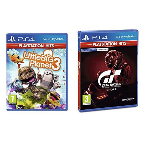 Little Big Planet 3 Hits + Gran Turismo Sport PlayStation Hits