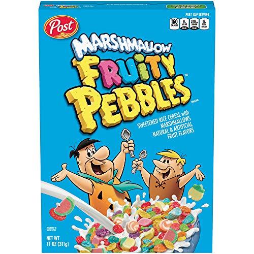 MARSHMALLOW FRUITY PEBBLES