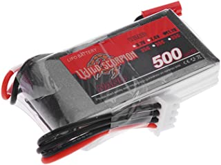 Jimi Brand Wild Scorpion 500mAh 25C MAX 35C 3S JST Plug Lipo Battery 11.1V for RC Car Airplane Blade CX Helicopter Part
