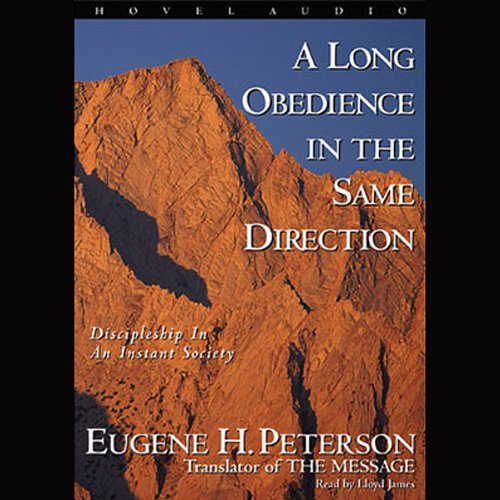 Long Obedience in the Same Direction audiobook cover art