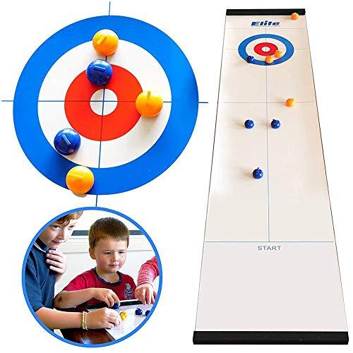 LIJUMN Mini Desktop-Eishockey, Juego Interactivo de pedagogía para niños, Depresión de compresión para Erwachsene, Tischspiel de sobremesa para la Familia Ganze - Spaß para niños y Erwachsene