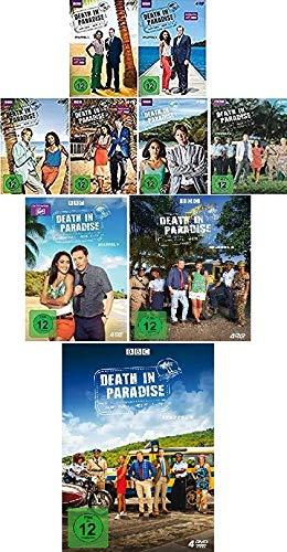 Death in Paradise - Staffel 1-9 im Set - Deutsche Originalware [36 DVDs]