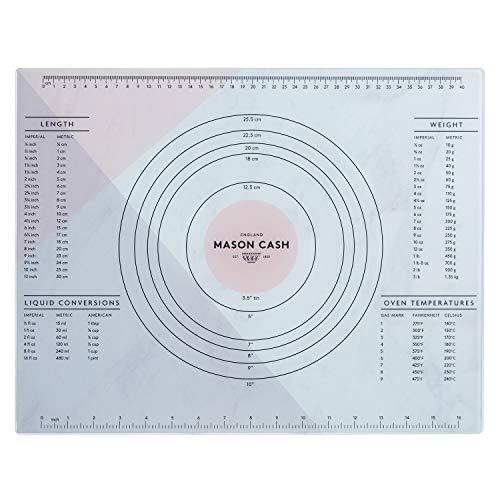 Mason Cash 2008.193 Innovative Kitchen Glass Pastry Board, 45 x 35