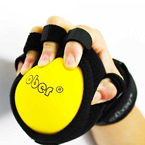 hand exercise equipment Hand Impairment Finger Squeeze Equipment Ball Rehabilitation Training Exercise Device Finger Board with Wrist Support