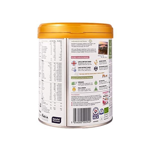(2x800g) Kendamil Organic Toddler Milk, Stage 3 – British Made, Organic Whole Milk Formula – with HMOs, No Palm Oil, No…