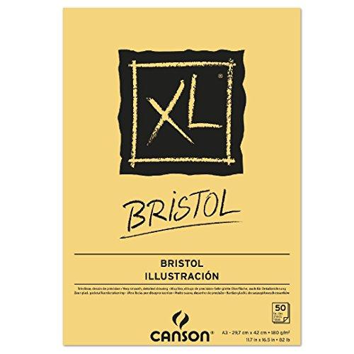 Canson 400039173 - Bloc de dibujo, A3, 29.7 x 42 cm