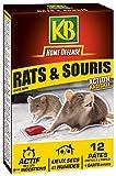 Pâtes Appâts pour rats et souris