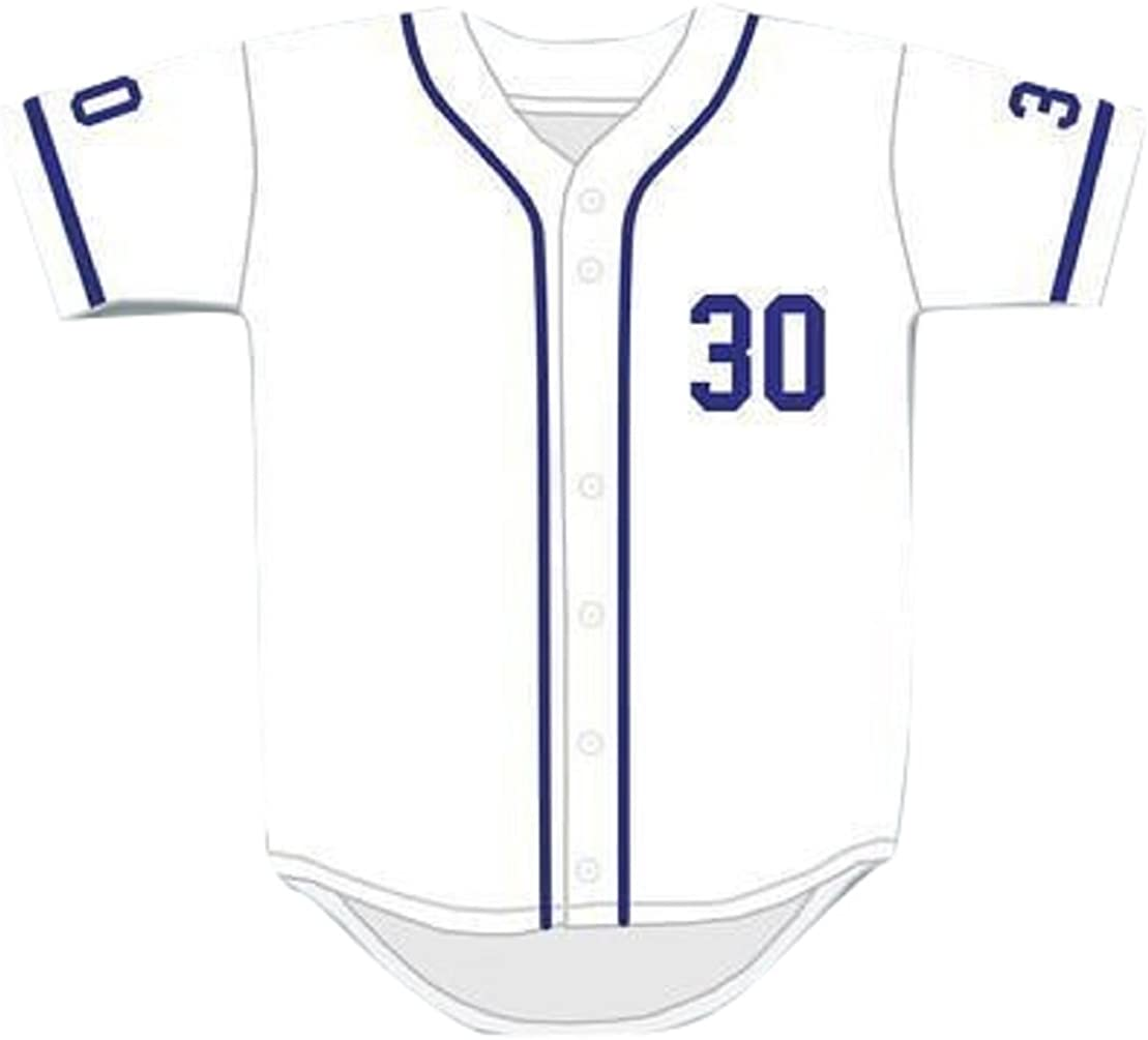 Mike Vitar Courier shipping free shipping Benny 'The Jet' Rodriguez Th Jersey 30 Max 54% OFF White Baseball