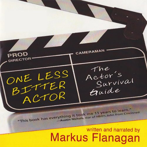One Less Bitter Actor audiobook cover art