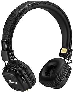Marshall Major II Bluetooth On-Ear Headphones, Black (4091378) - Discontinued