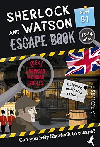 Sherlock & Watson. Escape book para repasar inglés. 13-14 años