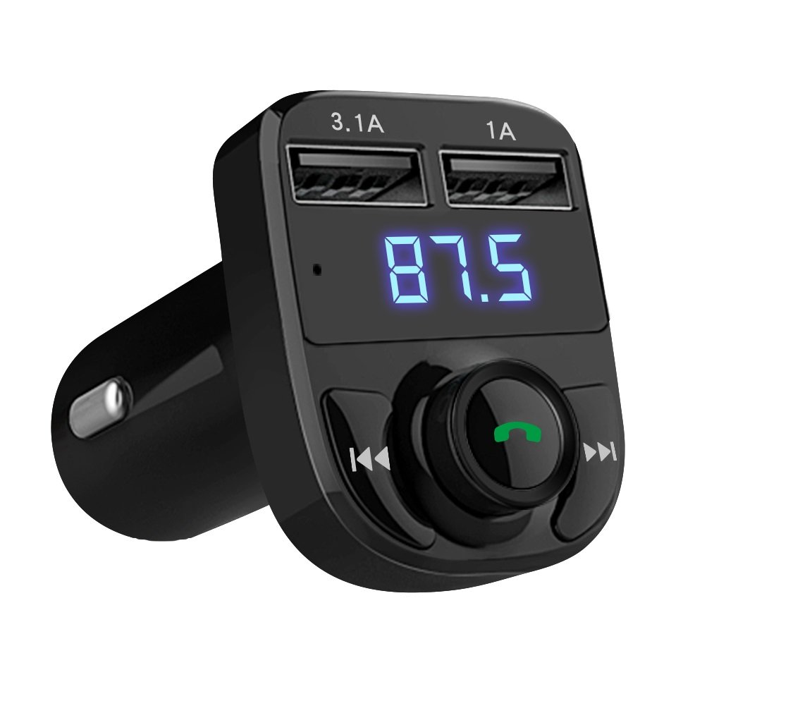 Handsfree Bluetooth Transmitter Compatible Smartphones