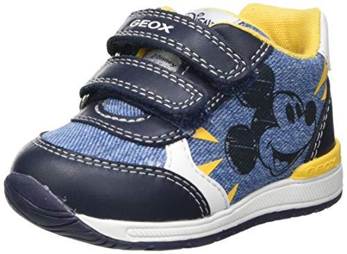 Geox Baby-Jungen B RISHON Boy C First Walker Shoe, AVIO/Navy, 22 EU