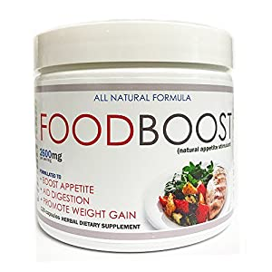 Weight gain pills to increase hunger and assist in weight gain. FoodBoost is also recommended by caregivers to improve appetite. FoodBoost can work as an appetite stimulant for the elderly. FoodBoost has been developed to help direct weight gain to t...