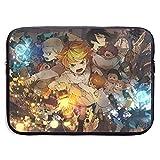 Anime The Promised Neverland Funda para portátil Bolsa de Funda para computadora Maletín para Tableta Protecció 13 Pulgadas