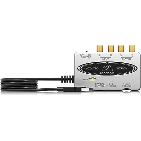 ベリンガー 2入力2出力 デジタル出力搭載USBオーディオインターフェース ホワイト UCA202 U-CONTROL
