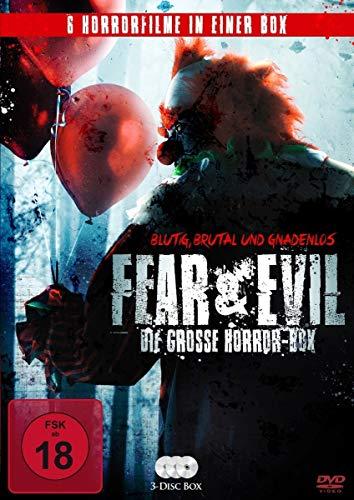 Fear & Evil - Die große Horror-Box [3 DVDs]