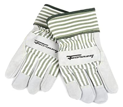Forney Cowhide Leather Palm Premium Women's Work Gloves