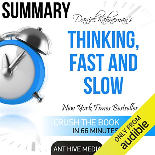Couverture de Daniel Kahneman's Thinking, Fast and Slow Summary