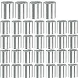 200 piezas de Mangas de Aluminio de Cuerda de Alambre,1.5mm Cuerda de Alambre Aluminio Mangas Clip Accesorios Cable Crimpea