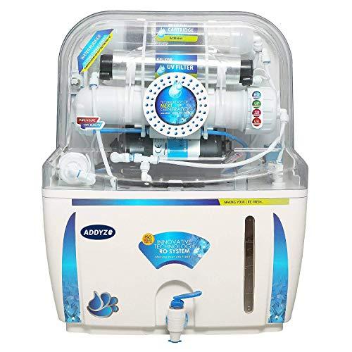 Addyz 12 Stage RO Water Purifier RO+UV+UF+TDS Controller & Mineral Cartridge