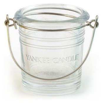 5.8 x 0.4 x 4.5 cm Yankee Candle Glass Bucket Votive Holder Yellow