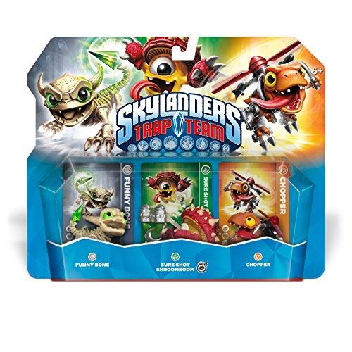 Skylanders Trap Team: Funny Bone, Chopper, & Shroomboom - Triple Character Pack