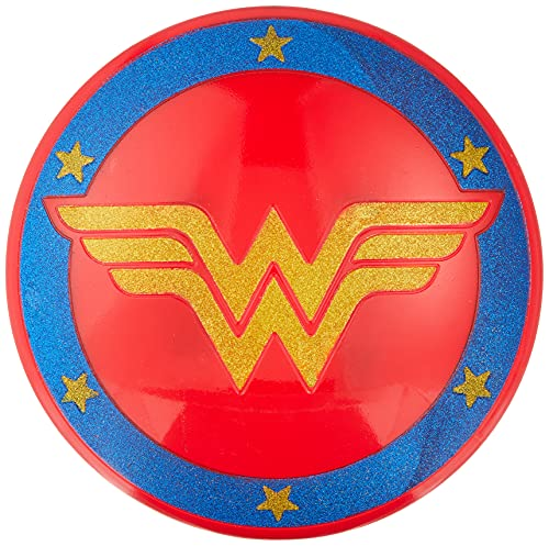 Rubie'S I-33640 – Escudo con purpurina oficial Wonder Woman