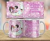 Kembilove Taza de Desayuno para Parejas con Bonitas Frases y Colores - Regalo Original Te volvería a Decir si 1 millón de Veces mas - Taza para Enamorados San Valentín