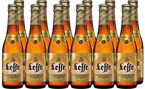 4. Inbev Leffe – Cerveza belga (pack de 6 botellas) de 330 ml con 6% de alcohol