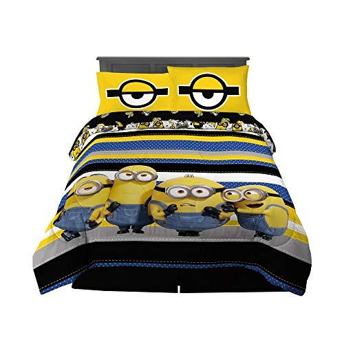 Minions Super Soft Comforter & Sheet Set