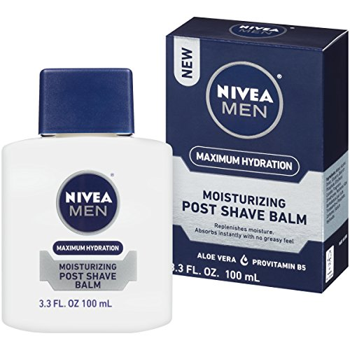Nivea For Men Maximum Hydration Moisturizing Post Shave Balm, 3.3 Ounce