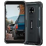 Blackview BV4900 Pro Outdoor Smartphone, 4GB + 64GB Octa-Core Android 10 Smartphone ohne Vertrag, 13MP + 5MP Kamera 5,7 Zoll HD+ Bildschirm, 5580 mAh Akku Dual SIM 4G Outdoor Handy ohne Vertrag, Schwarz