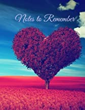 Notes to Remember (Seasons Series-Summer-Extra Large, 8 x 11) (Volume 3)