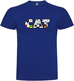 kruskis Camiseta Catalunya Miro Manga Corta Hombre
