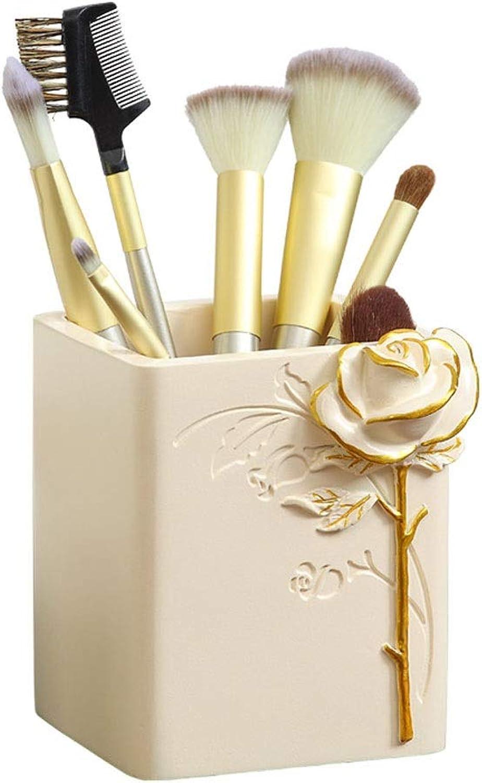RKY Stiftschale Kreative Mode niedlichen Stifthalter Harz Europäischen Schreibwaren Make-up Make-up Make-up Pinsel Speicherrohr Desktop Aufbewahrungsbox  -  B07NVH2KZS | Sale  8777fc