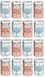 Fever-Tree Refreshingly Light Aromatic Tonic Water & Refreshingly Light Tonic Water Cans 16 x 150ml - Mixed Pack x 16
