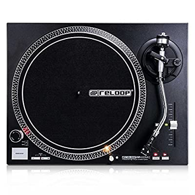 Reloop RP-4000 MK2 DJ turntable with strong torque direct drive