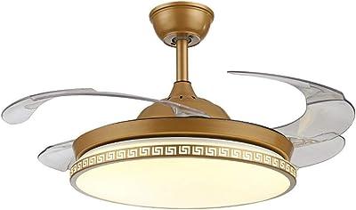 Amazon.com: tiptonlight retráctil Ventilador de techo con ...