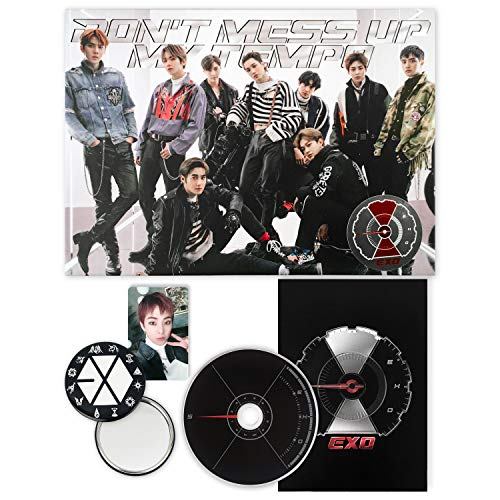 EXO 5th Album - Don't Mess Up My Tempo [ VIVACE ver. ] CD + Booklet + Photocard + FREE GIFT / K-pop Sealed