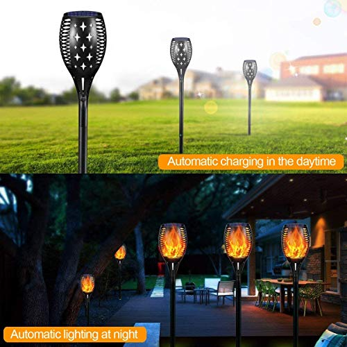 YoungPower Solar Outdoor Torch Lights LED Landscape Lighting 43