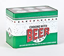 Cooking with beer tin great for guys Traditional Tin 10th Anniversary Gifts for Him