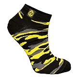 Borussia Dortm& BVB Sneaker Socken camouflage (35-38)