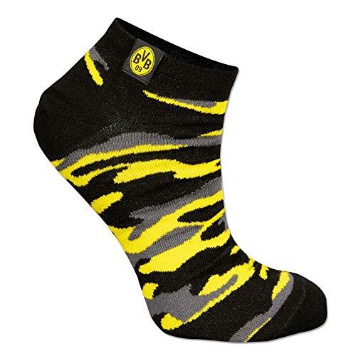 Borussia Dortmund BVB Sneaker Socken camouflage (35-38)