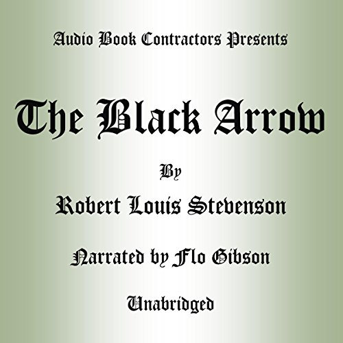 The Black Arrow audiobook cover art